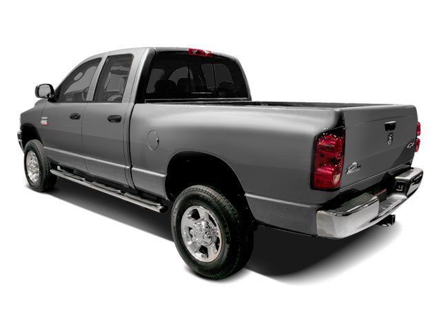 2009 Dodge Ram 3500 Prices and Values Quad Cab SLT 2WD side rear view