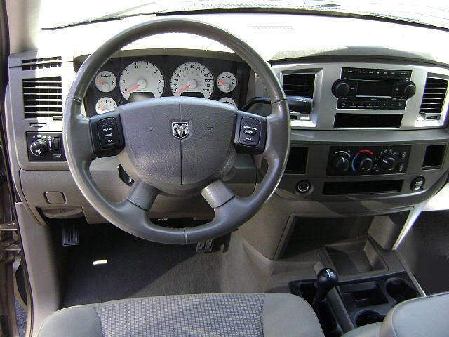 2009 Dodge Ram 3500 Prices and Values Quad Cab SLT 4WD driver's dashboard