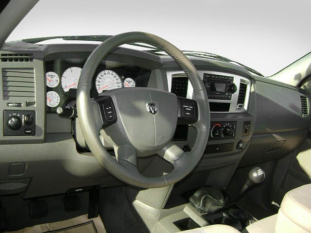 2009 Dodge Ram 3500 Prices and Values Regular Cab SXT 2WD driver's dashboard