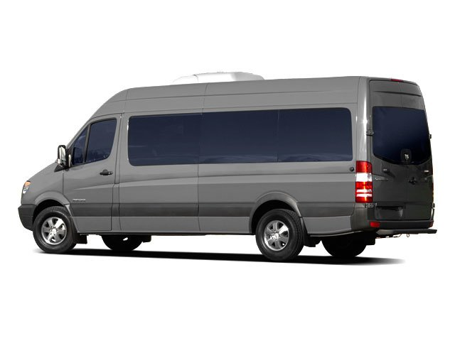 2009 Dodge Sprinter Wagon Prices and Values Passenger Van side rear view