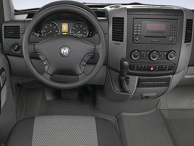 2009 Dodge Sprinter Wagon Prices and Values Extended Passenger Van driver's dashboard