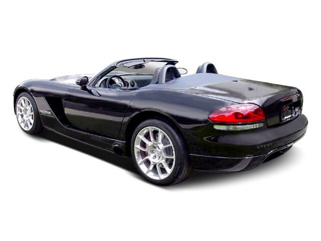 2009 Dodge Viper Prices and Values 2 Door Roadster side rear view