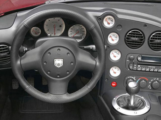 2009 Dodge Viper Prices and Values 2 Door Roadster driver's dashboard