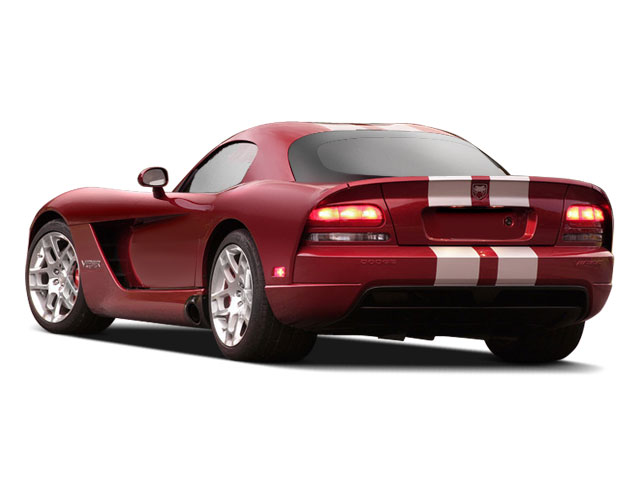 2009 Dodge Viper Prices and Values 2 Door Coupe side rear view