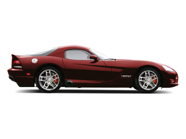 2009 Dodge Viper Prices and Values 2 Door Coupe side view