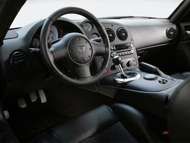 2009 Dodge Viper Prices and Values 2 Door Coupe full dashboard