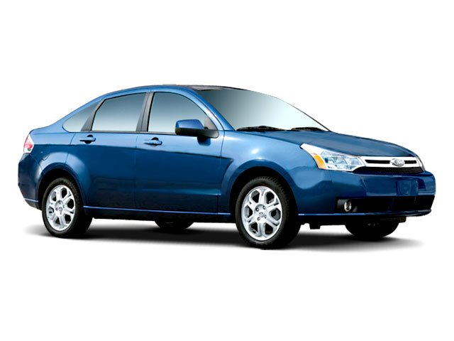 2009 Ford Focus Prices and Values Sedan 4D SEL side front view