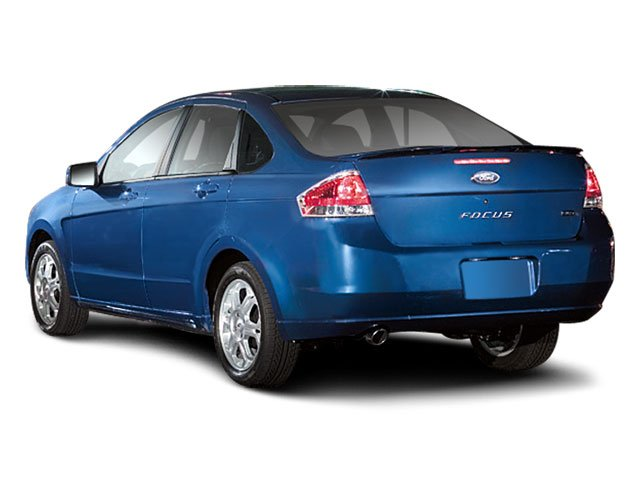 2009 Ford Focus Prices and Values Sedan 4D SEL side rear view