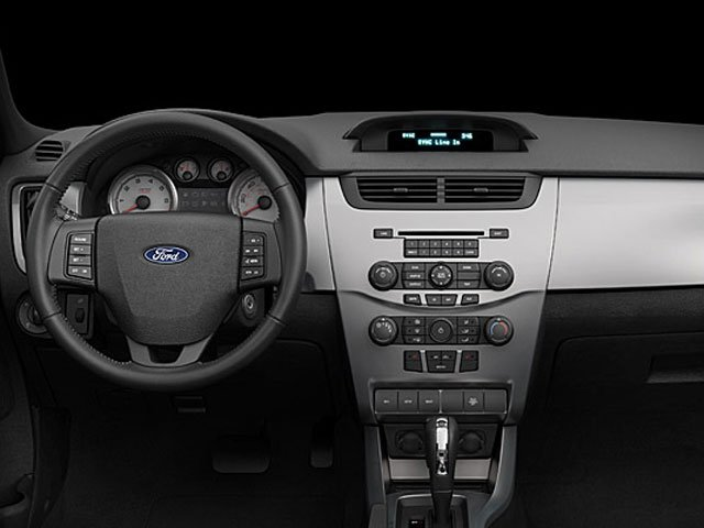 2009 Ford Focus Prices and Values Sedan 4D SEL driver's dashboard
