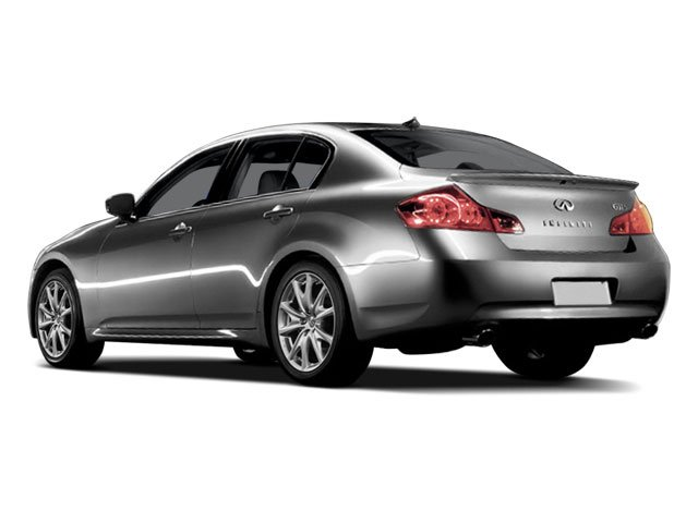 2009 INFINITI G37 Sedan Prices and Values Sedan 4D side rear view