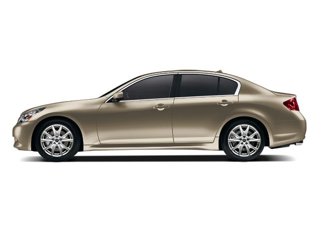 2009 INFINITI G37 Sedan Prices and Values Sedan 4D side view