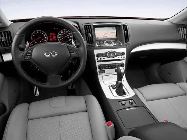 2009 INFINITI G37 Sedan Prices and Values Sedan 4D full dashboard