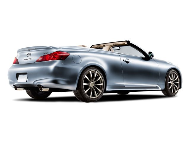 2009 INFINITI G37 Convertible Pictures G37 Convertible Convertible 2D photos side rear view
