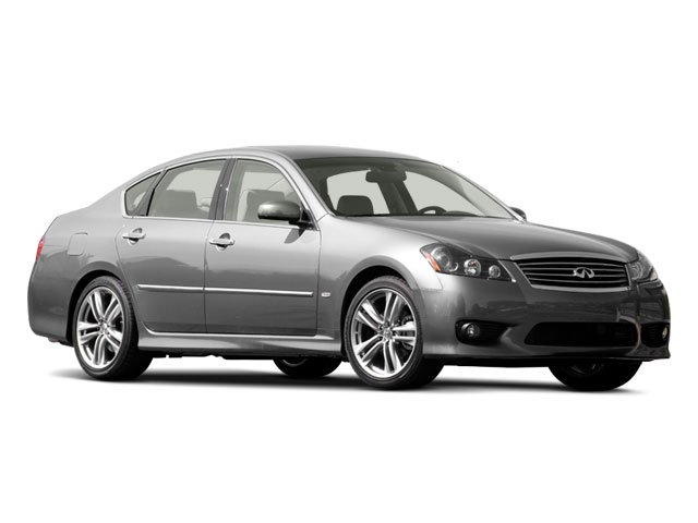 2009 INFINITI M35 Prices and Values Sedan 4D AWD side front view