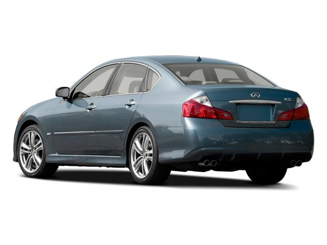 2009 INFINITI M35 Prices and Values Sedan 4D AWD side rear view