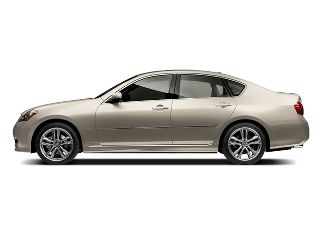 2009 INFINITI M35 Prices and Values Sedan 4D AWD side view