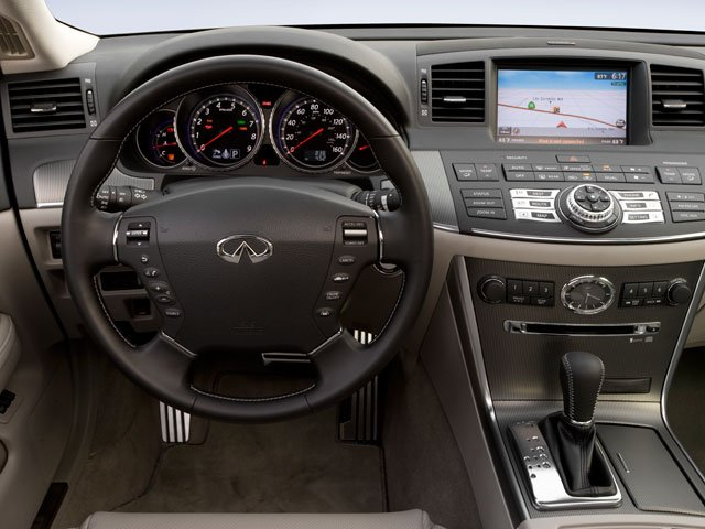 2009 INFINITI M35 Prices and Values Sedan 4D AWD driver's dashboard