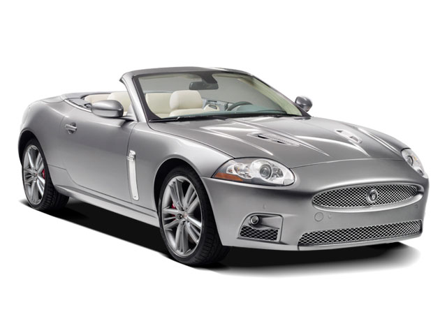 2009 Jaguar XK Series Pictures XK Series Convertible 2D photos side front view