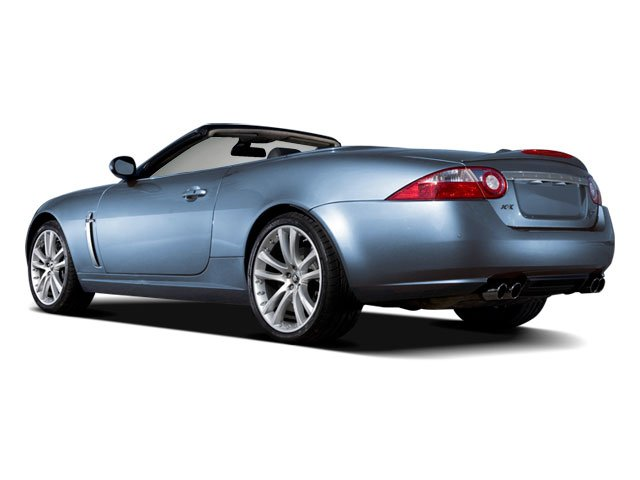 2009 Jaguar XK Series Prices and Values Convertible 2D side rear view