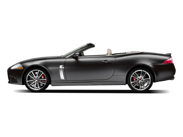 2009 Jaguar XK Series Prices and Values Convertible 2D side view