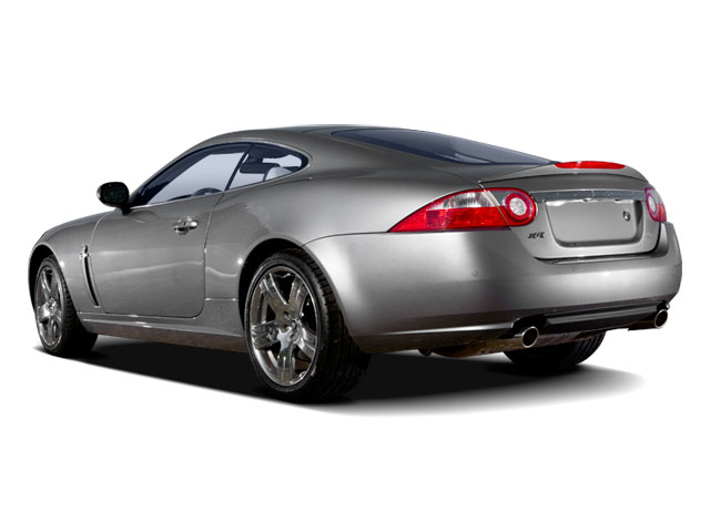 2009 Jaguar XK Series Prices and Values Coupe 2D side rear view