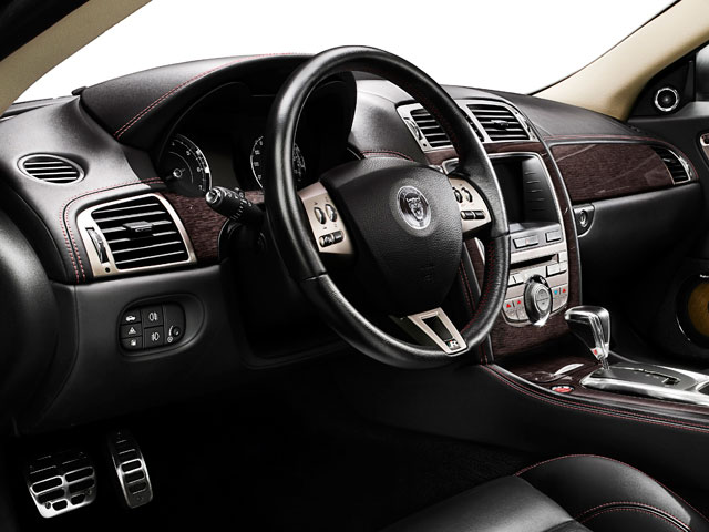 2009 Jaguar XK Series Prices and Values Coupe 2D full dashboard