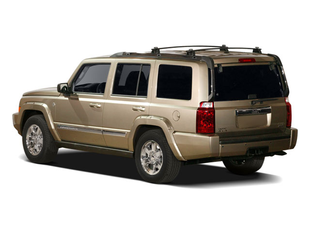 2009 Jeep Commander Prices and Values Utility 4D Limited 4WD side rear view