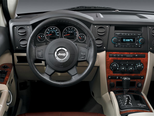 2009 Jeep Commander Prices and Values Utility 4D Limited 4WD driver's dashboard