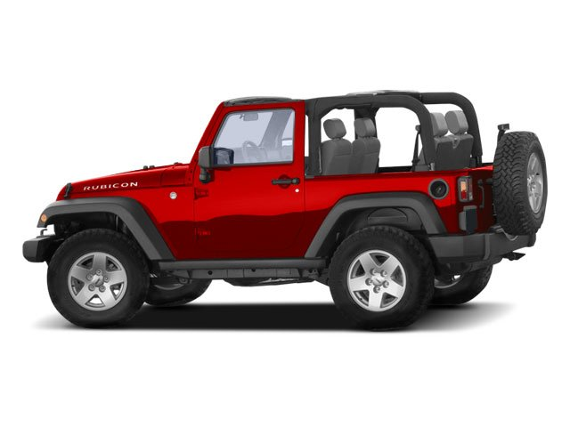 2009 Jeep Wrangler Pictures Wrangler Utility 2D X 4WD photos side view