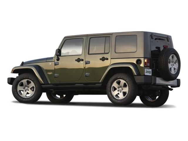 2009 Jeep Wrangler Unlimited Prices and Values Utility 4D Unlimited X 2WD side rear view