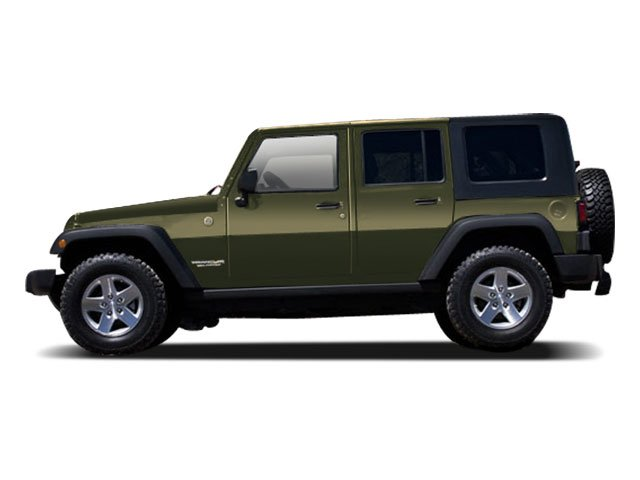 2009 Jeep Wrangler Unlimited Prices and Values Utility 4D Unlimited X 2WD side view