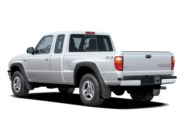 2009 Mazda B-Series Truck Prices and Values Base Cab Plus 4D 4WD side rear view