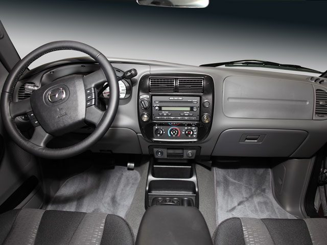 2009 Mazda B-Series Truck Prices and Values Base Cab Plus 4D 4WD full dashboard