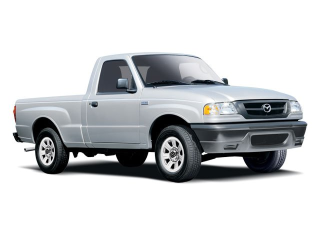 2009 Mazda B-Series Truck Pictures B-Series Truck Base 2WD photos side front view