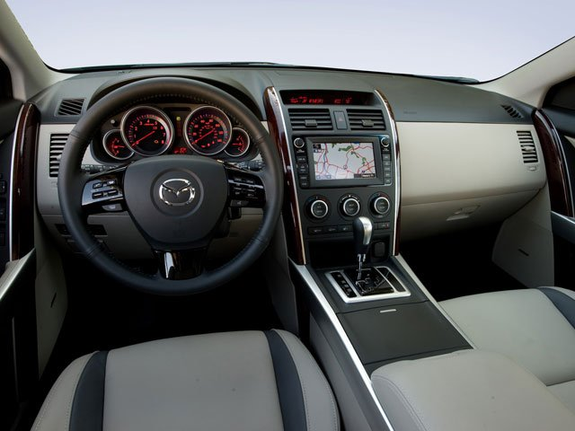 2009 Mazda CX-9 Prices and Values Utility 4D Sport 2WD full dashboard