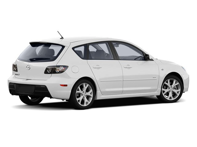 2009 Mazda Mazda3 Prices and Values Wagon 5D s side rear view