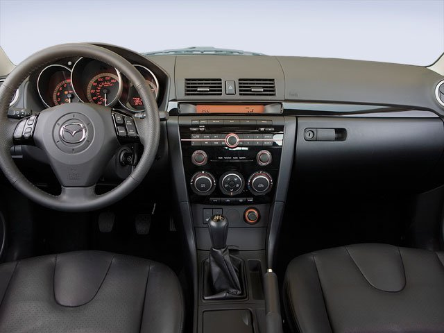 2009 Mazda Mazda3 Prices and Values Wagon 5D s full dashboard
