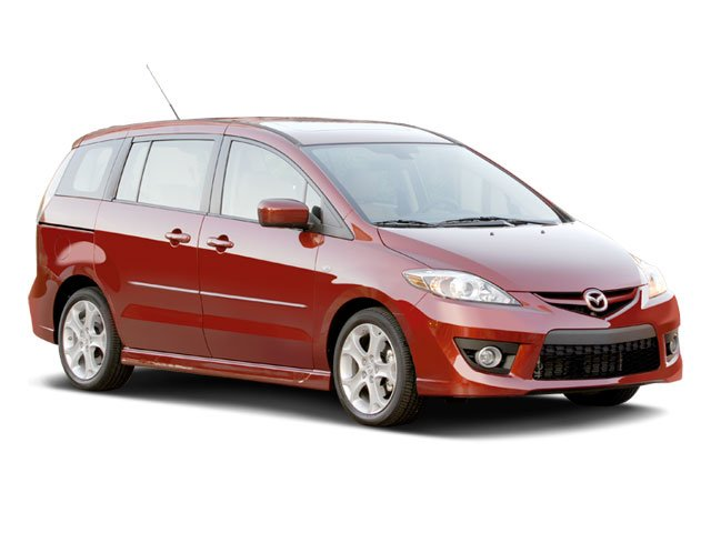 2009 Mazda Mazda5 Prices and Values Wagon 5D Sport side front view