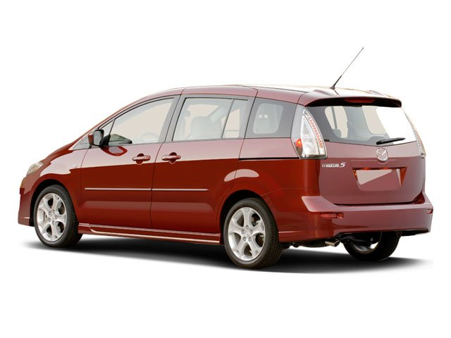 2009 Mazda Mazda5 Prices and Values Wagon 5D Touring side rear view
