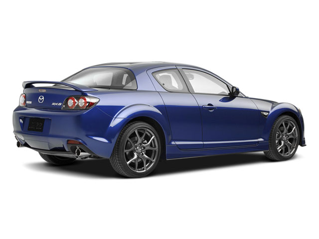 2009 Mazda RX-8 Prices and Values Coupe 2D Touring (6 Spd) side rear view