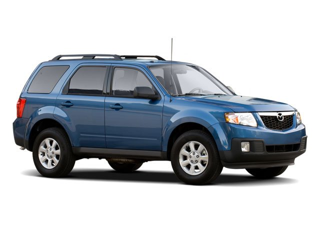2009 Mazda Tribute Pictures Tribute Utility 4D Hybrid Touring 4WD photos side front view