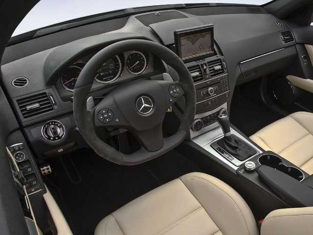 2009 Mercedes-Benz C-Class Prices and Values Sedan 4D C300 AWD full dashboard