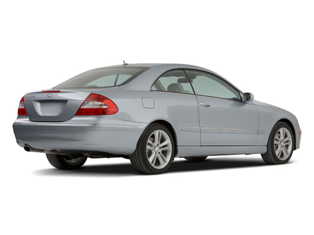 2009 Mercedes-Benz CLK-Class Prices and Values Coupe 2D CLK350 side rear view