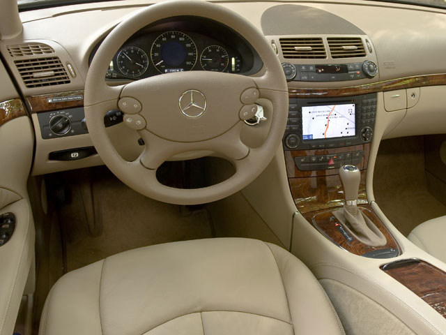 2009 Mercedes-Benz E-Class Prices and Values Wagon 4D E63 AMG driver's dashboard