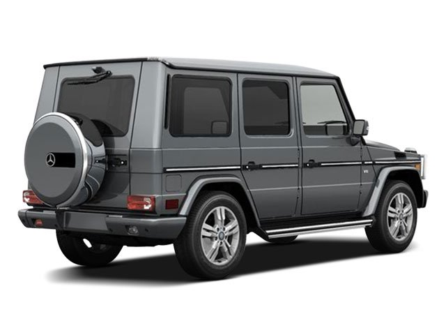 2009 Mercedes-Benz G-Class Prices and Values AMG 4 Door Supercharged 5.5L 4X4 side rear view
