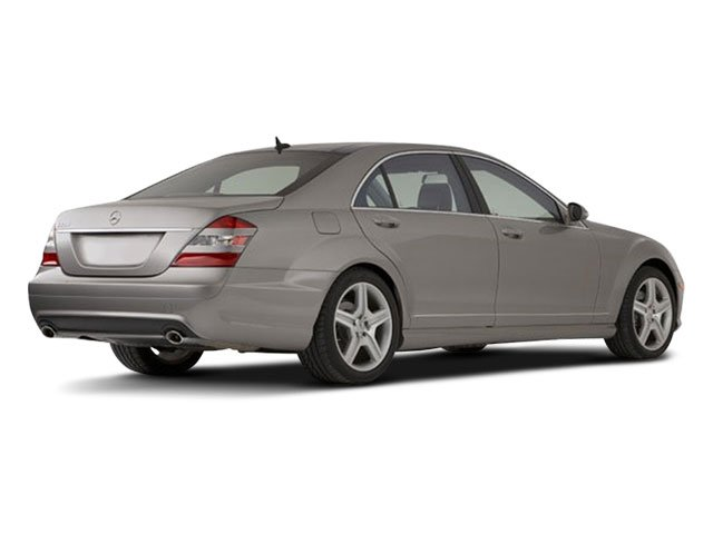 2009 Mercedes-Benz S-Class Prices and Values Sedan 4D S63 AMG side rear view