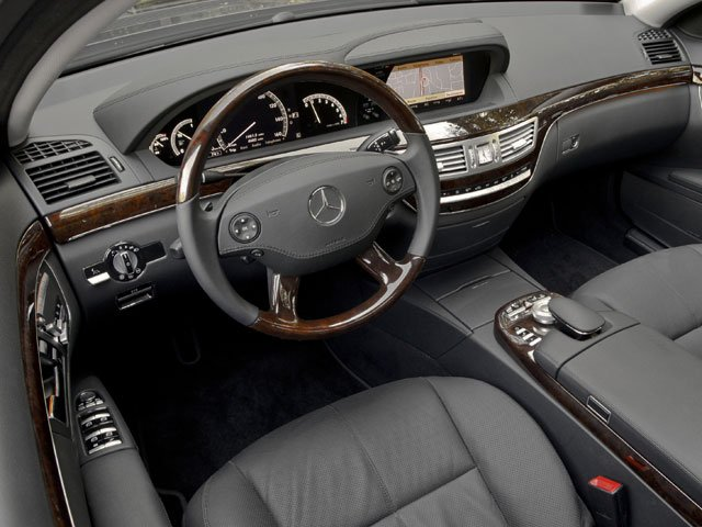2009 Mercedes-Benz S-Class Prices and Values Sedan 4D S63 AMG full dashboard