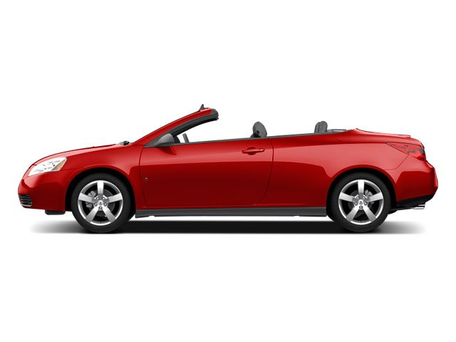 2009 Pontiac G6 Prices and Values Convertible 2D GT side view