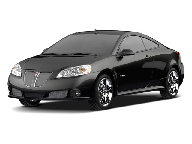 2009 Pontiac G6 Prices and Values Coupe 2D GT side front view