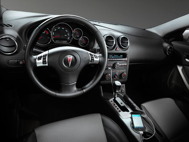 2009 Pontiac G6 Prices and Values Coupe 2D full dashboard